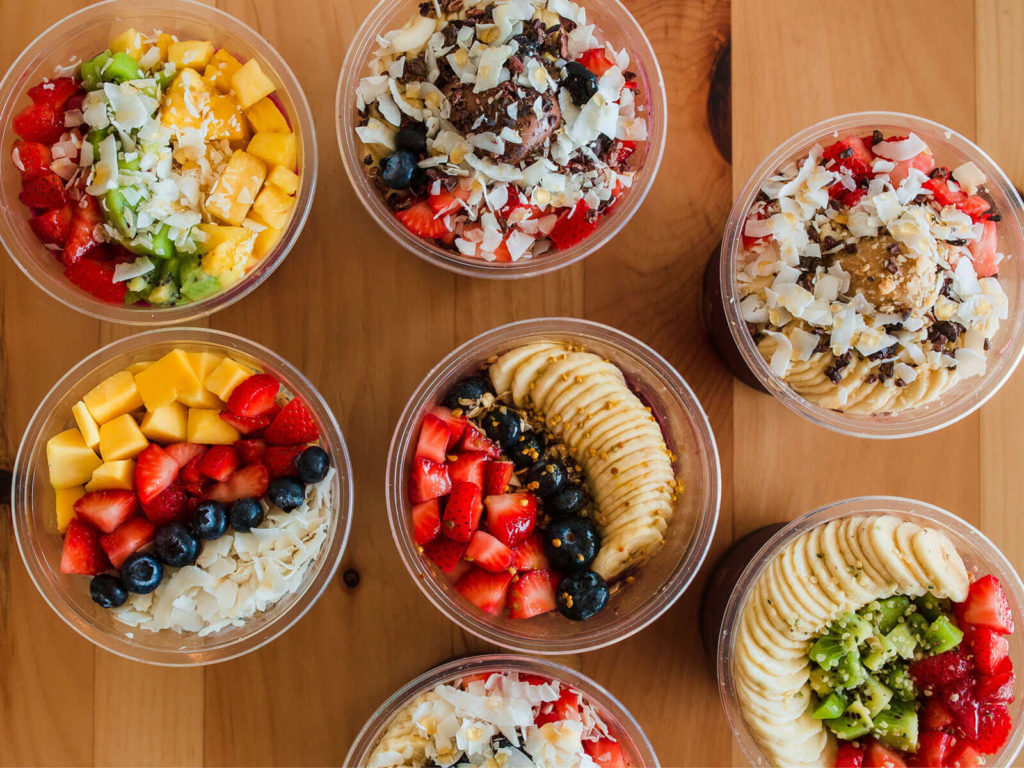 Healthy food from Wow Wow