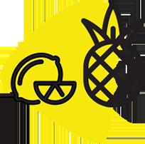 Lemon and Pineapple Icon