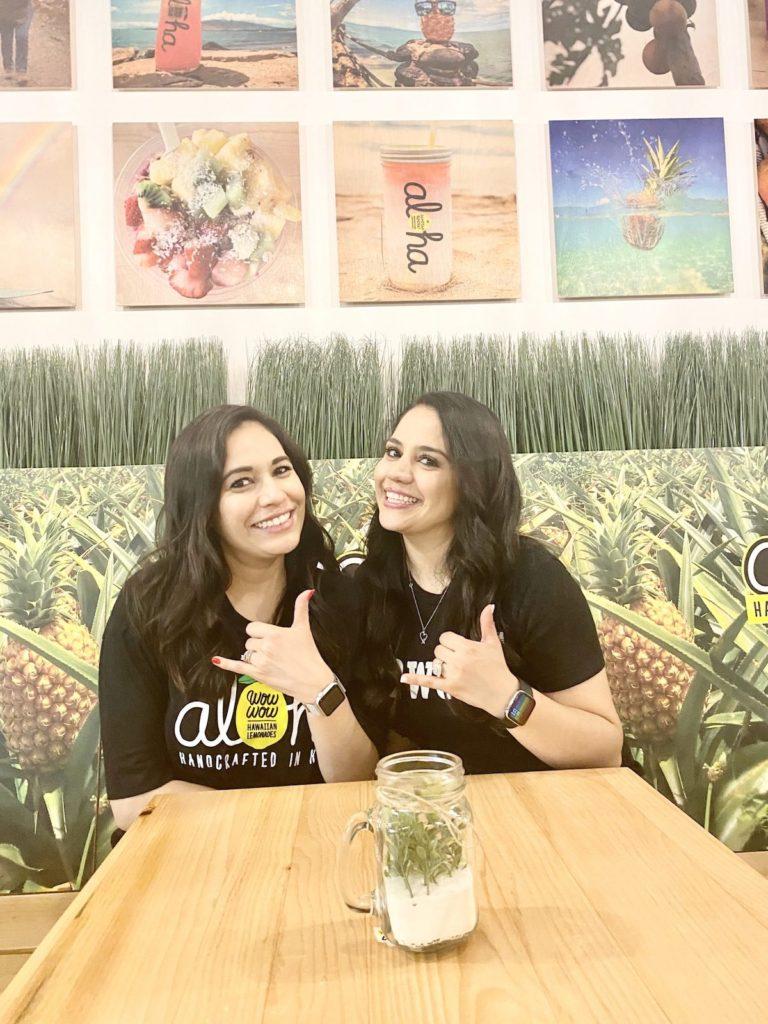Nayely Jimenez and Cinthia Swaner