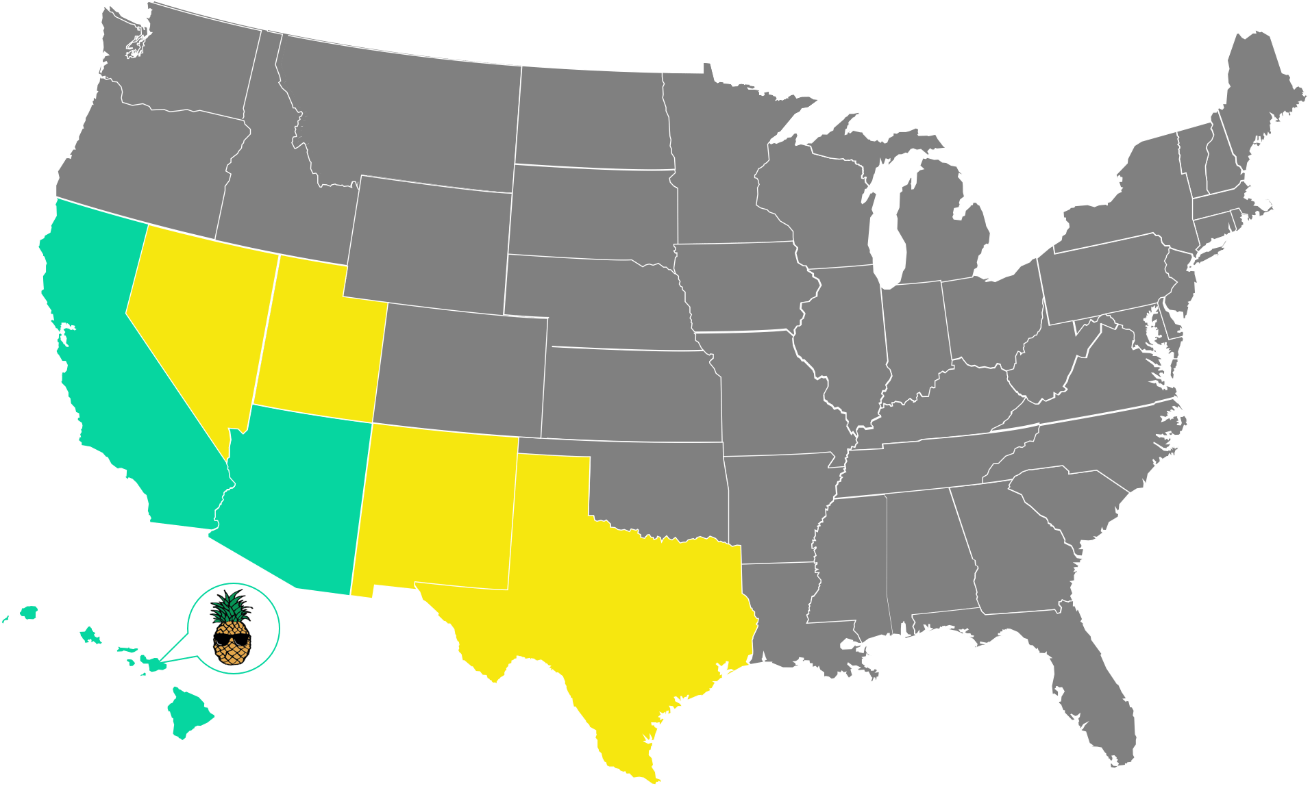 Available Territories Location Map